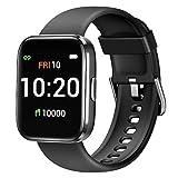 Letsfit Smartwatch, Fitnessuhr mit Schrittzähler, Fitness Tracker...