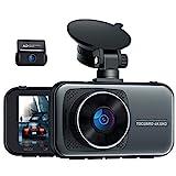 Toguard UHD 4K Dual Dashcam Vorne und Hinten, Autokamera mit 310°...