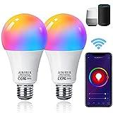 Alexa Glühbirnen E27 Smart LED-Lampe,...