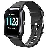 Letsfit Smartwatch, 1.3 Zoll Touchscreen Fitness Armbanduhr, Fitness...