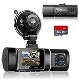 Abask Dashcam Auto Dual 1080P Full HD...