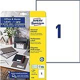AVERY Zweckform 6125 Universal Etiketten (10 Klebeetiketten, 210x297...