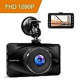 APEMAN Full HD 1080P Dashcam Autokamera Video Recorder mit 170° Weitwinkelobjektiv, 3 Zoll LCD-Bildschirm, WDR, Bewegungserkennung, Loop-Aufnahme, Nachtsicht und G-Sensor