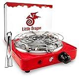 Little Dragon® Shisha Kohleanzünder [Version 2.0] Verbesserter...
