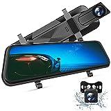VanTop H610 Spiegel Dashcam Auto vorne hinten, 2,5K Autokamera mit 10'...