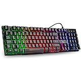 Rii Gaming Tastatur PC, PS4 Tastatur...