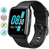 UMIDIGI Smartwatch UFit, Fitness Tracker Armbanduhr mit Blutsauerstoff-Monitor(SpO2) Blutdruck Messgerät Pulsuhr 5 ATM Fitness Uhr sportuhr Pulsoximeter für Damen Herren Smart Watch für iOS Android