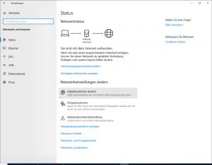 Laptop findet kein WLAN: Adapteroptionen ändern
