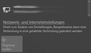 Laptop findet kein WLAN: Flugmodus