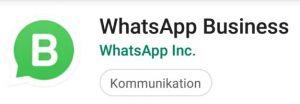 WhatsApp Business: Zwei Accounts auf einem Handy