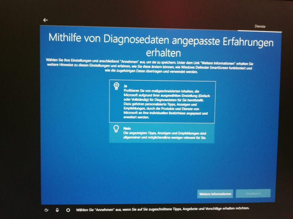 Fehlerdiagnose unter Windows