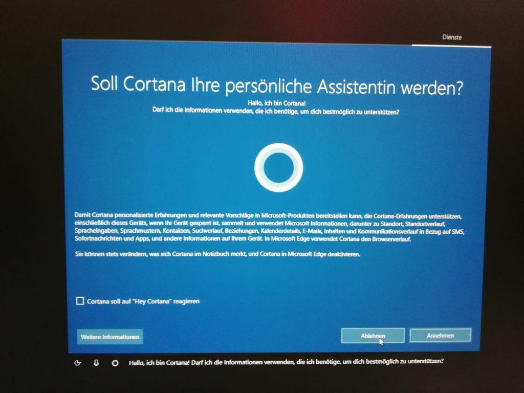 Cortana als Sprachassistentin benutzen