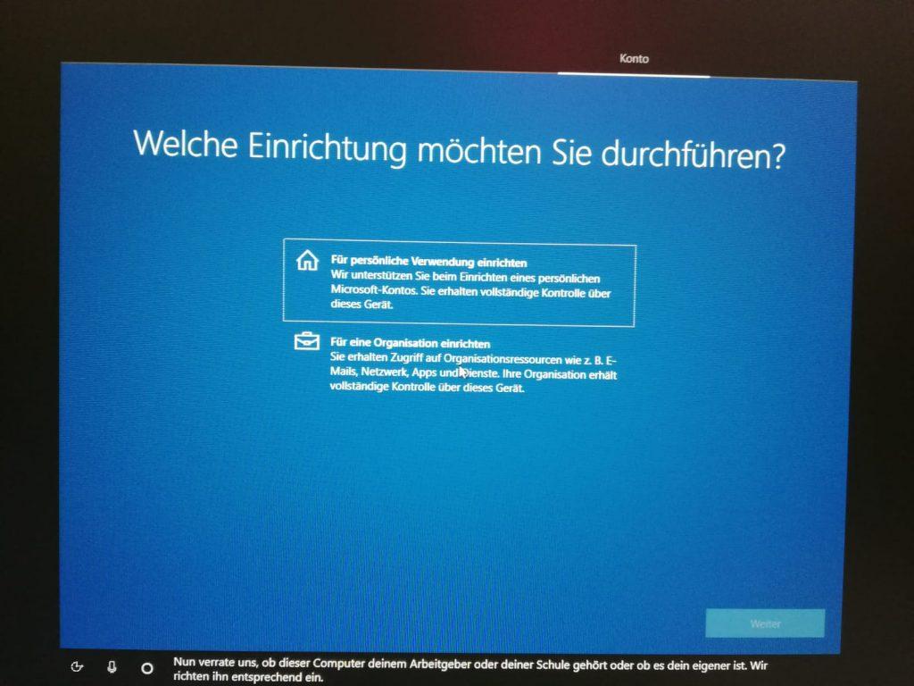 Windows für private oder berufliche Zwecke einrichten