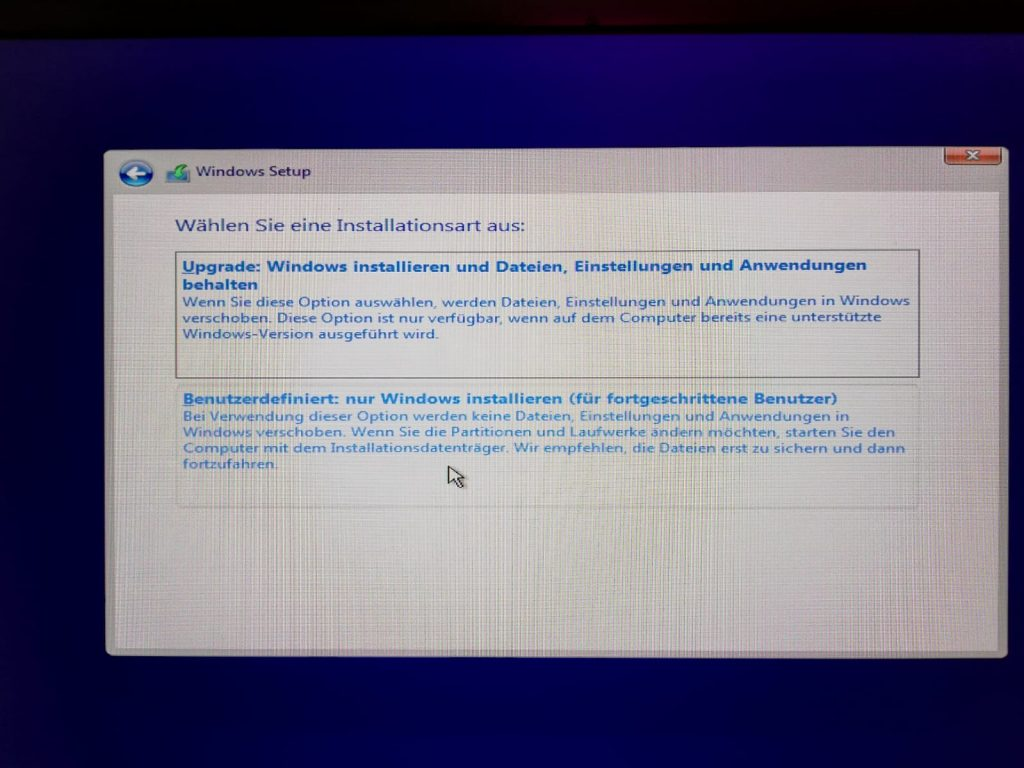 Windows 10 Upgrade oder Neuinstallation