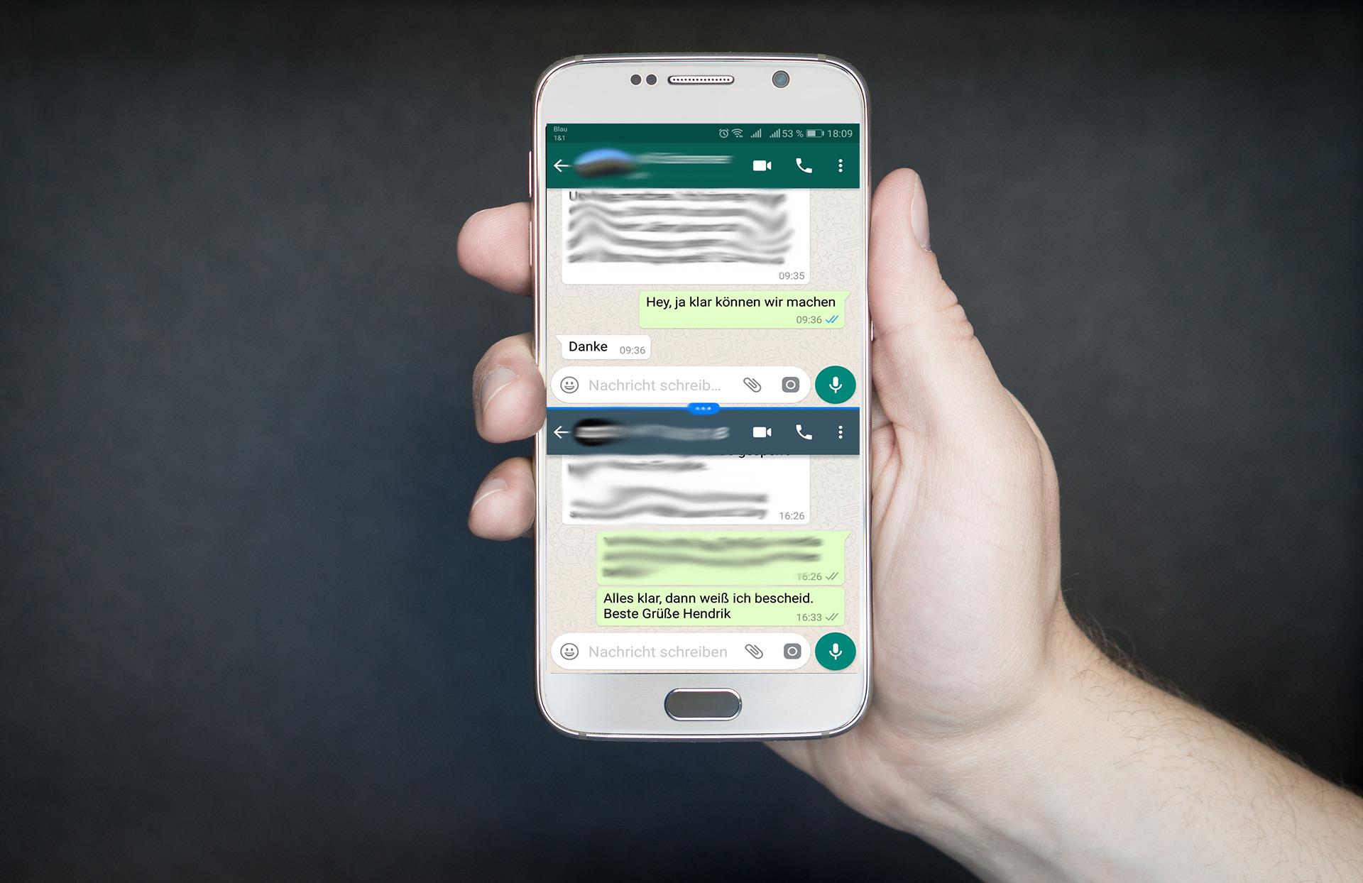 WhatsApp Zwei Rufnummern auf einem Handy nutzen   Tech Aktuell