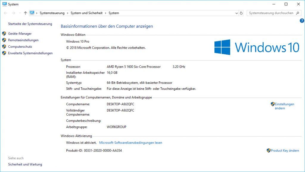 Windows 10 aktivieren