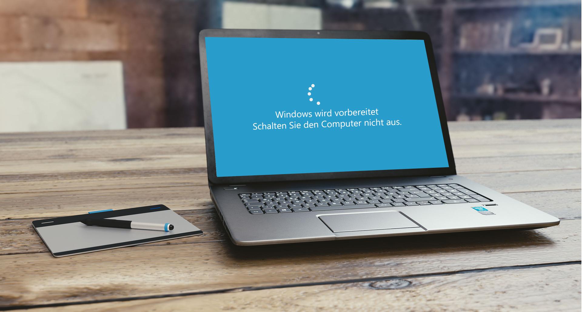 Windows Wird Vorbereitet Win 10