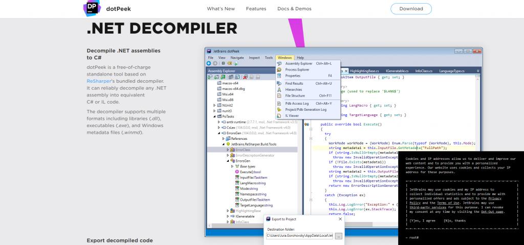 DLL-Dateien öffnen: Compiler