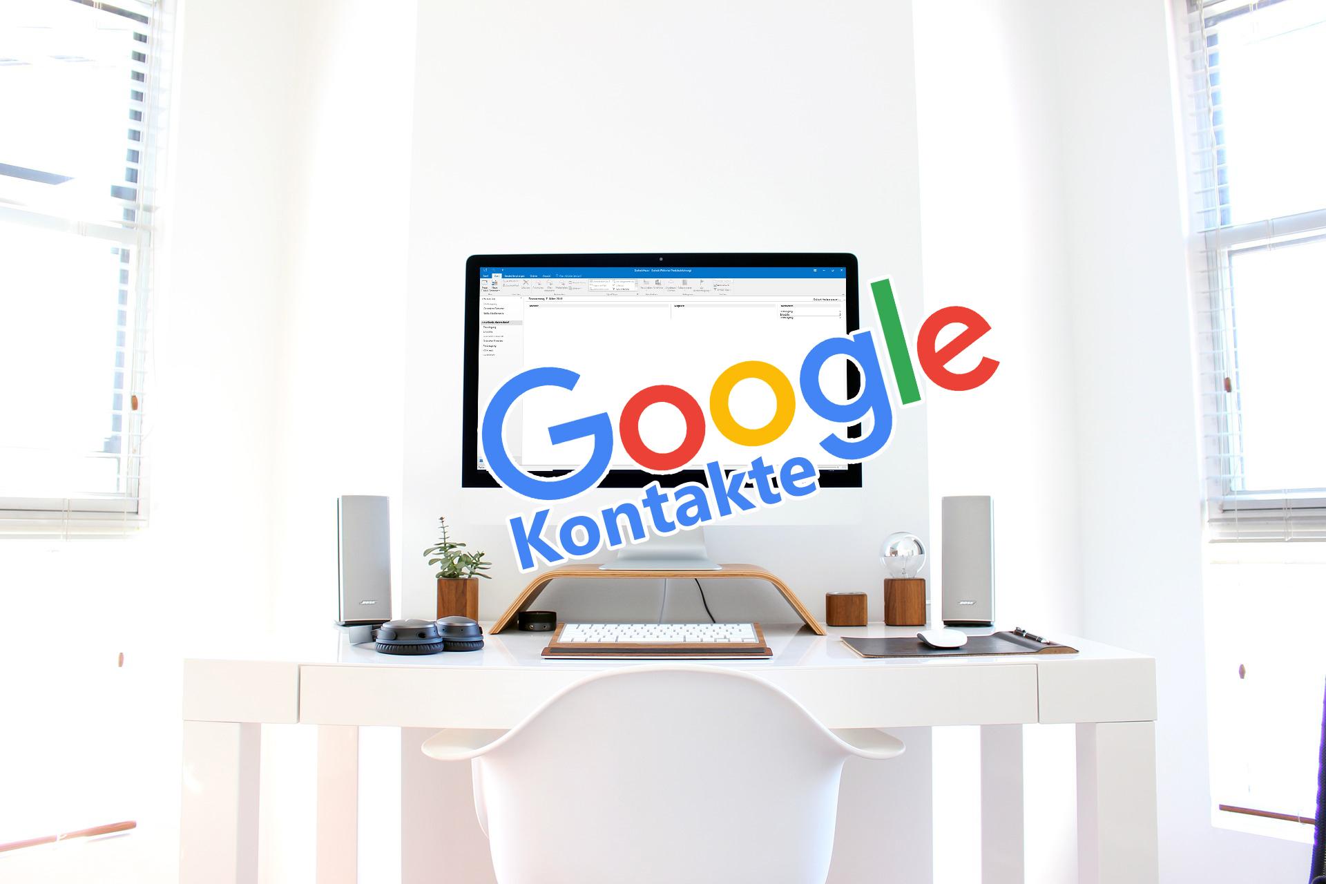 Zwei Google Konten Kontakte Synchronisieren
