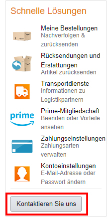amazon-chat-kontaktieren