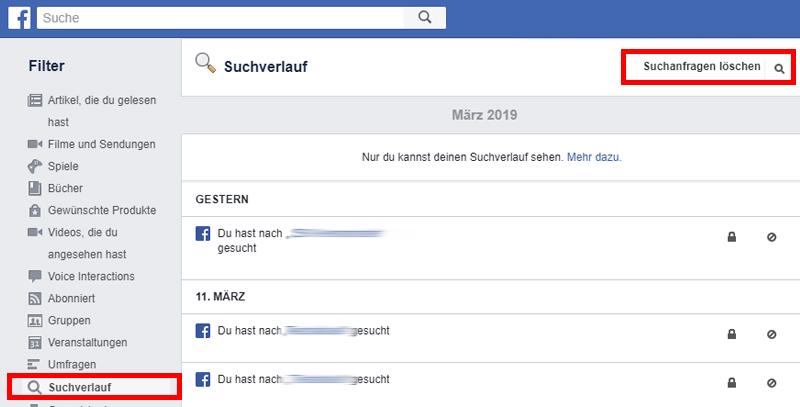 facebook-suchverlauf-entfernen