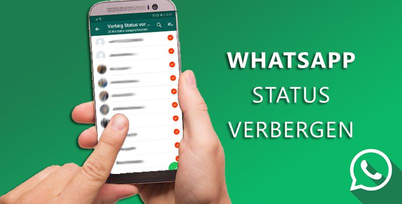 Whats App Status Für Einzelne Kontakt Verbergen Tech Aktuell