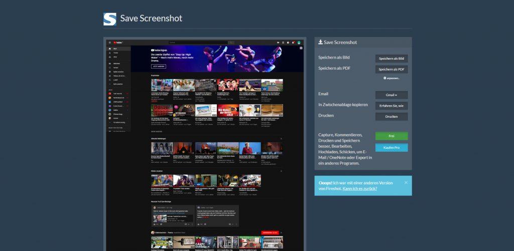 Google Chrome Screenshot erstellen und speichern