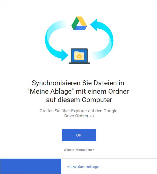 Synchronisieren Sie Dateien - Meine Ablage - Google Drive