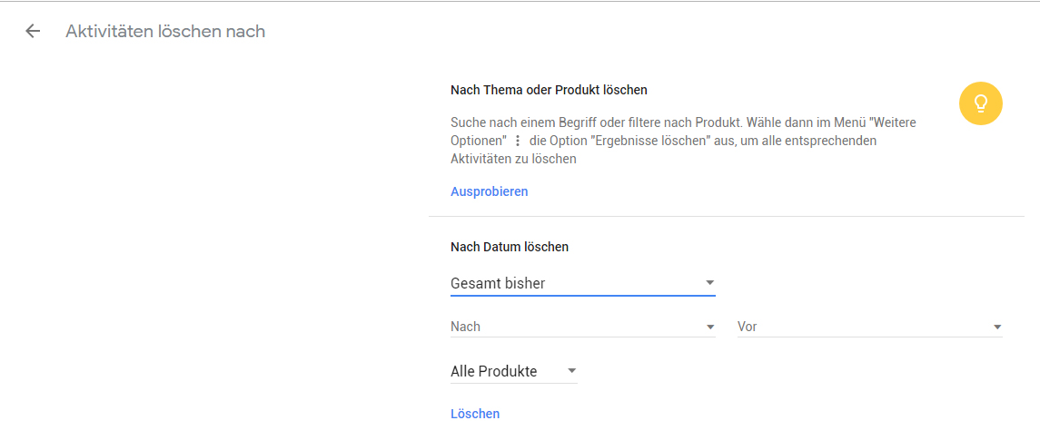 google-suchanfragen-desktop-entfernen