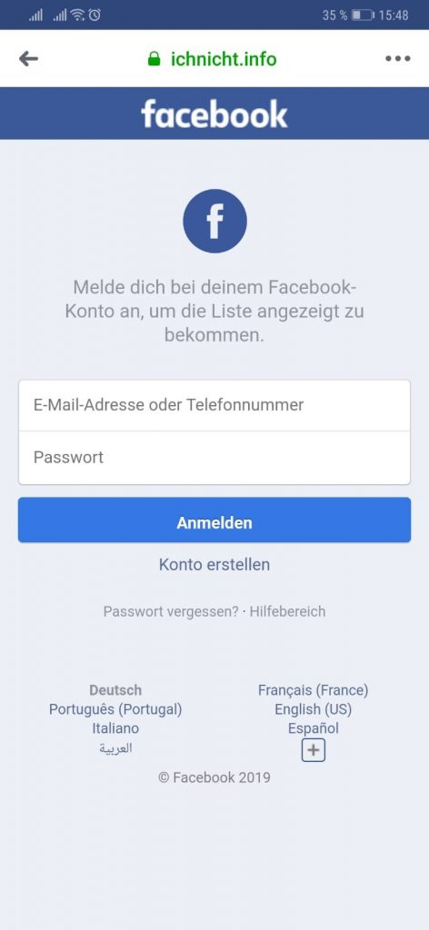 Vorsicht Falle: So klauen Betrüger Ihre Facebook Anmeldedaten