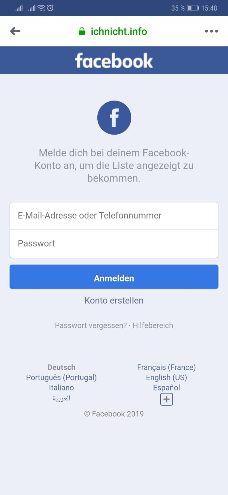 Vorsicht Falle: Facebook wer hat mein Profil angesehen