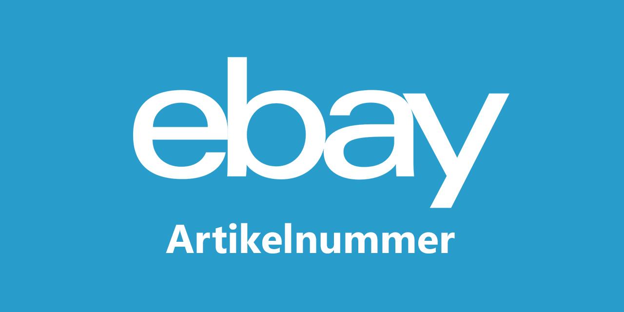 Wo finde ich die ebay artikelnummer techaktuell for Wo finde ich gunstige kuchen