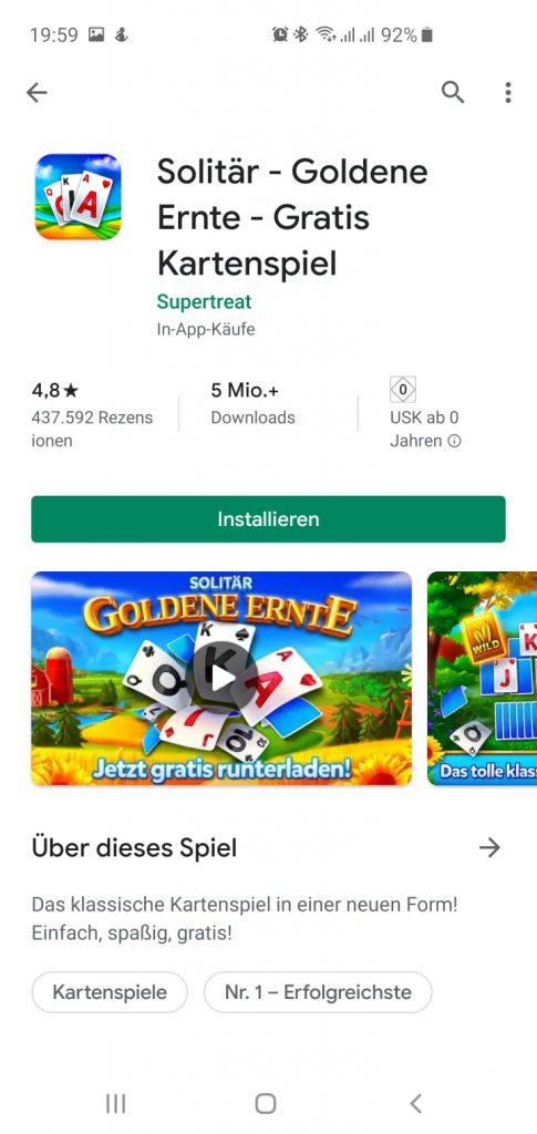 Neues Design für den Google Play Store