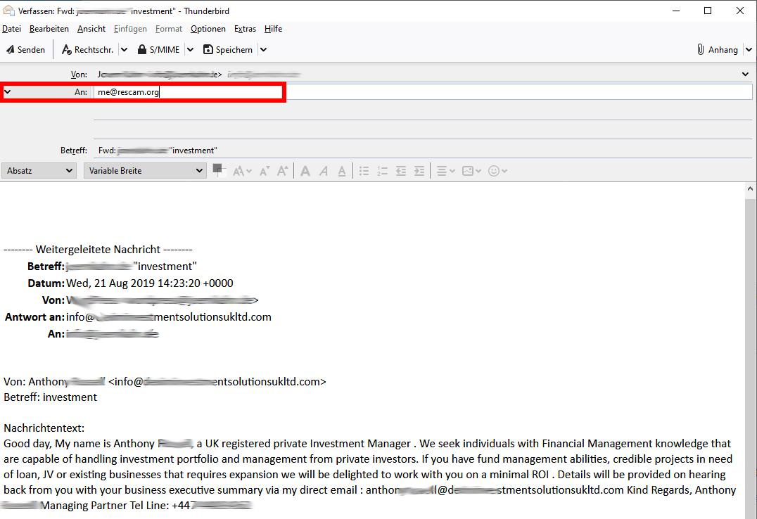 re-scam-mail-weiterleiten
