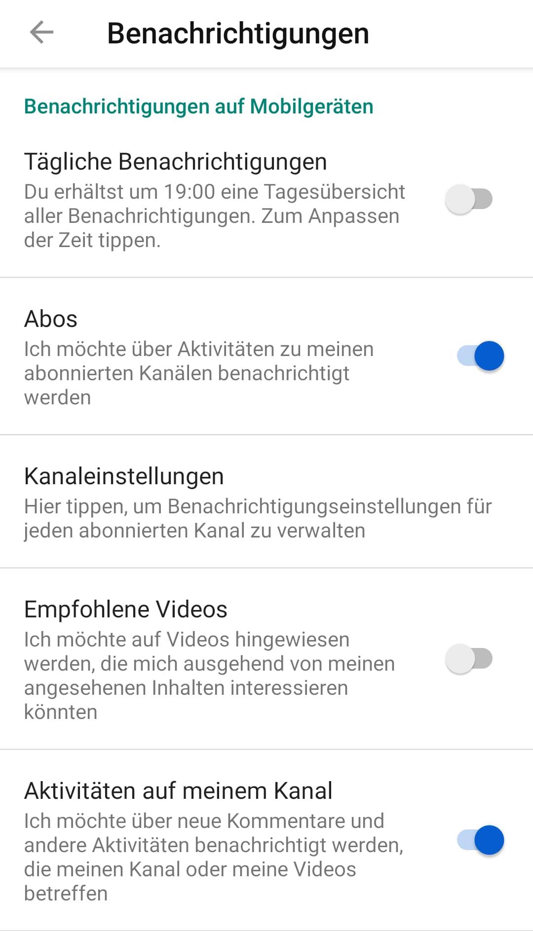 youtube-push-meldungen-ausschalten