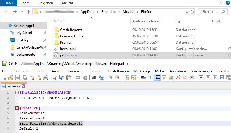 firefox-profil-passwort-importieren
