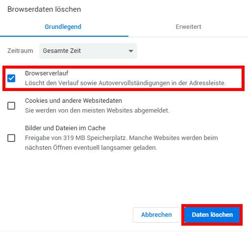 Iphone Browser Cache Löschen