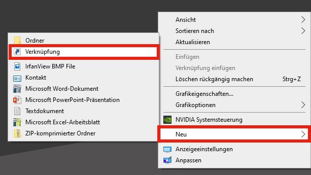 desktop-verknuepfung-erstellen