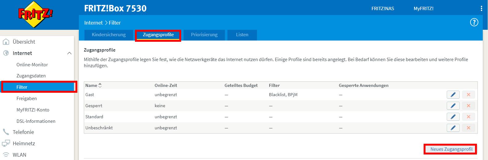 fritz-box-zugangsprofil-erstellen