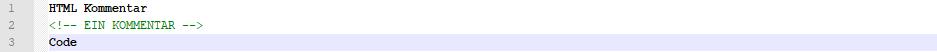 html-kommentar