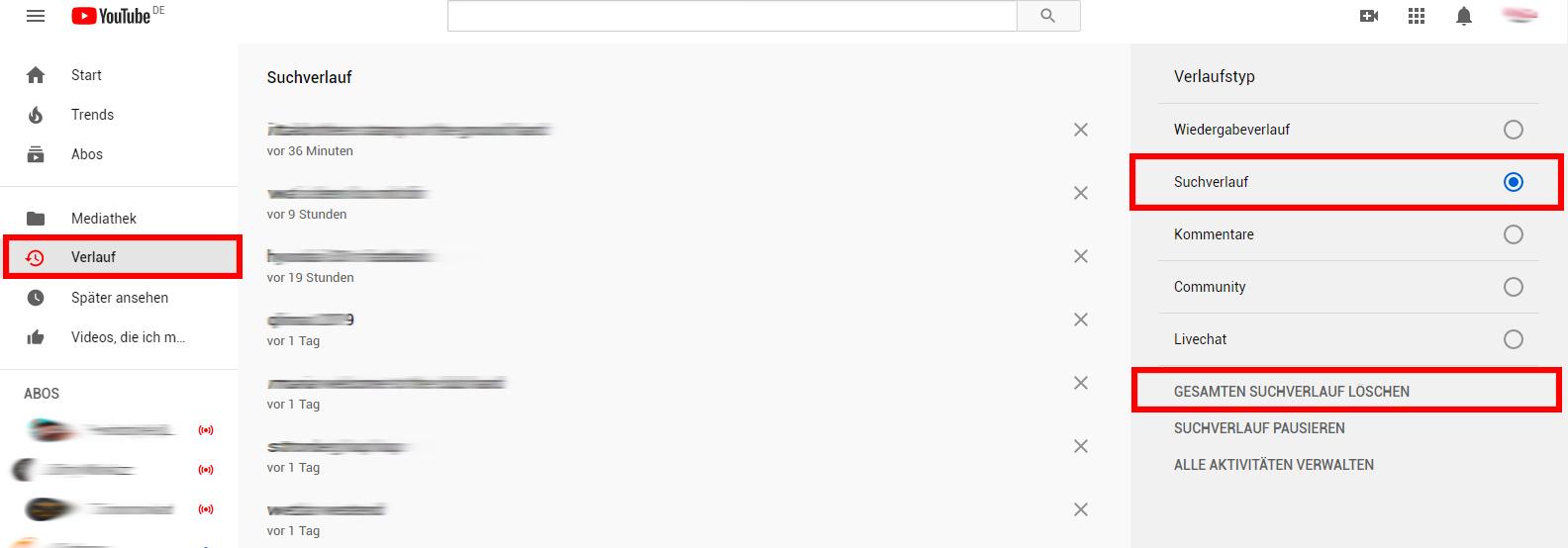youtube-suchverlauf-loeschen-desktop