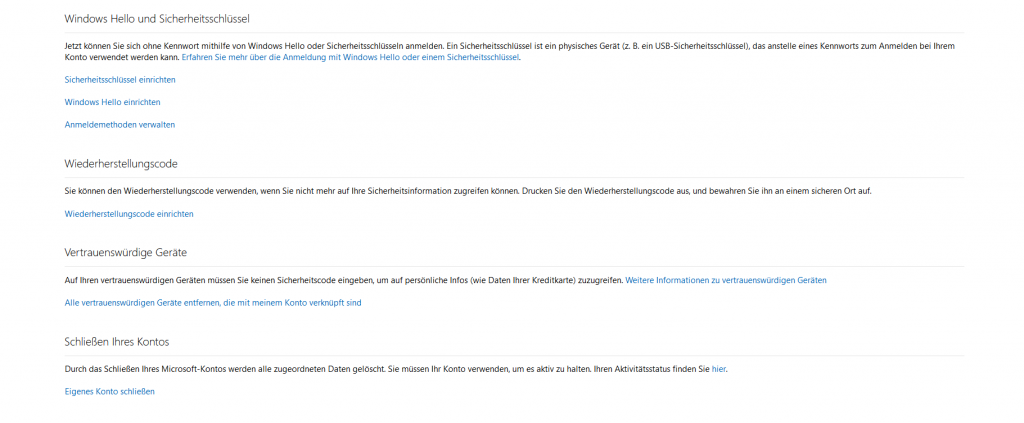 Microsoft Account löschen - so geht´s