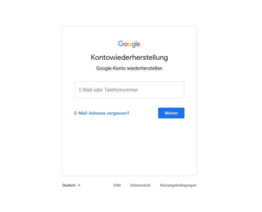 Vergessenes Gmail Passwort zurücksetzen - so geht´s