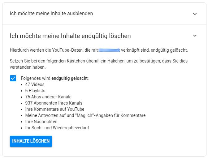 youtube-konto-loeschen