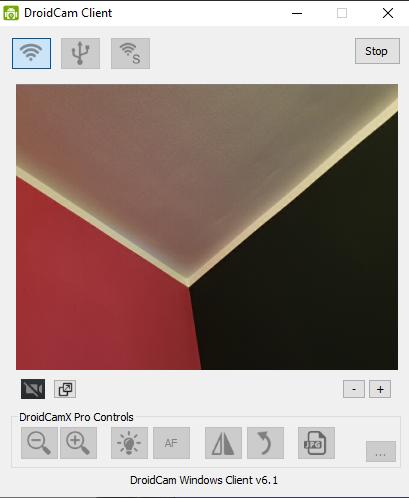 Handy-Webcam - DroidCam Client