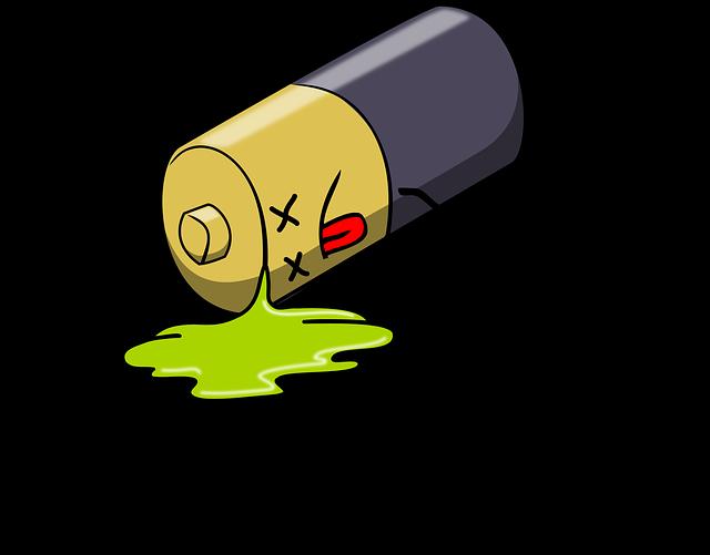 Ausgelaufene Batterie giftig?