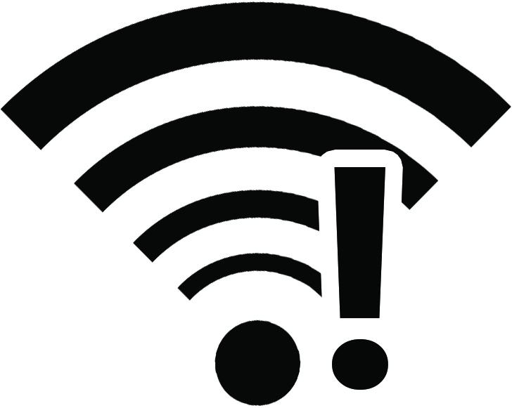 Ausrufezeichen im WLAN-Symbol - daran kann es liegen