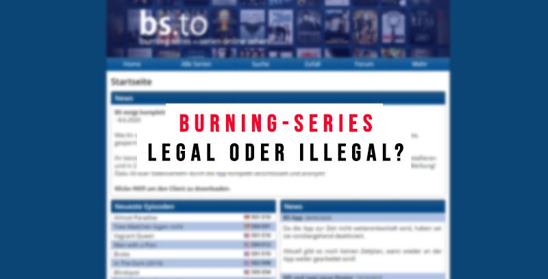 Burning Series Streaming Software
