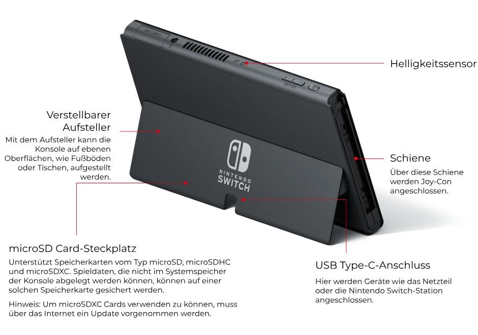 Nintendo Switch OLED - Neues Modell